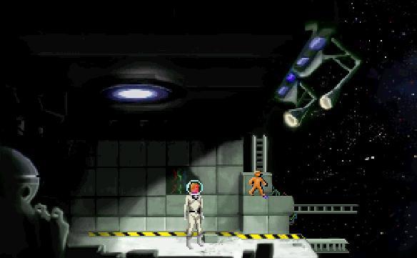 Screenshot of Space Quest II VGA
