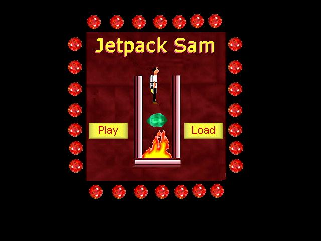 Zoomed screenshot of Jetpack Sam 1