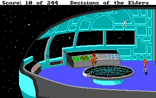 Screenshot of Decisions of the Elders - A Space Quest Prequel - Complete full length retro game