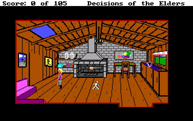 Screenshot 2 of Decisions of the Elders - A Space Quest Prequel - Complete full length retro game width=