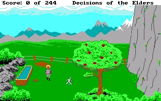 Screenshot 3 of Decisions of the Elders - A Space Quest Prequel - Complete full length retro game width=