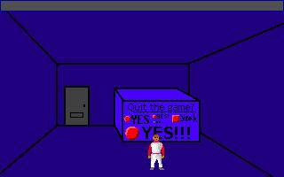 Screenshot of AGS Quit Game Dialog: The Game