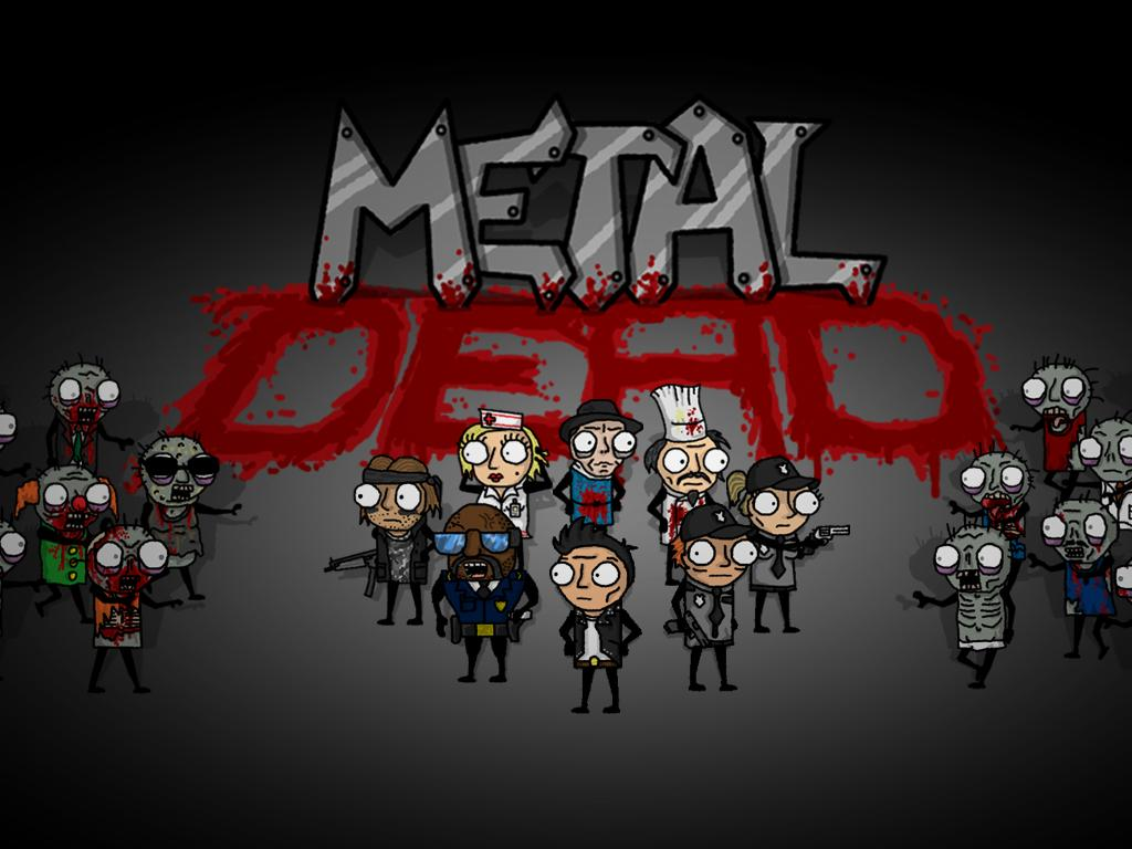 Zoomed screenshot of Metal Dead