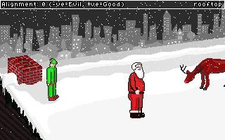 Screenshot of Good Santa, Bad Santa