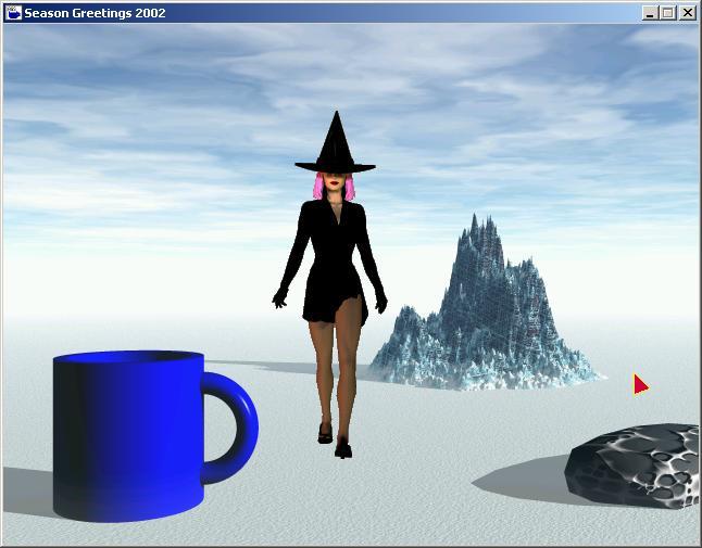 Screenshot of Season Greetings 2002 ENG