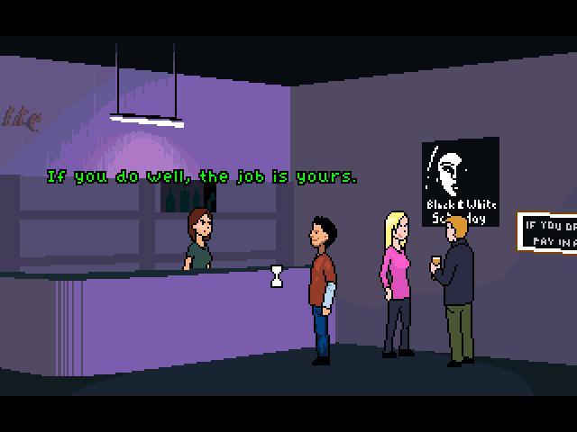 Screenshot of Ed Watts: Bar Runner