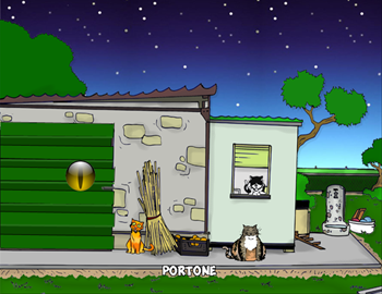 Screenshot 2 of A Cat's Night width=