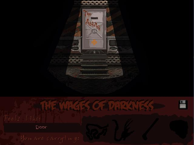 Zoomed screenshot of Wages of Darkness