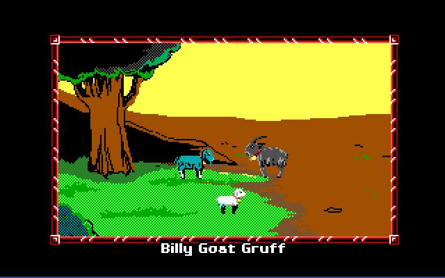 Zoomed screenshot of Billy Goats Gruff (MAGS)