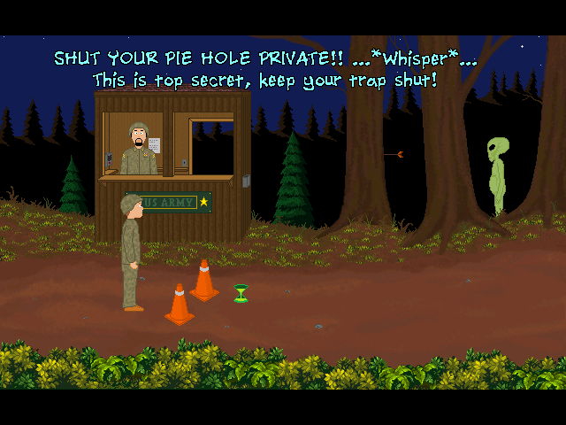 Screenshot of The Visitor 2