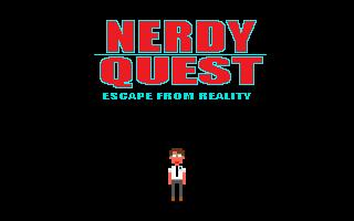 Zoomed screenshot of Nerdy Quest