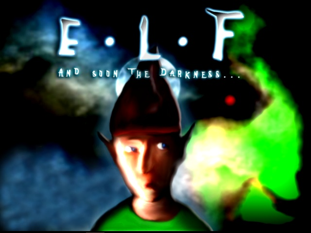 Zoomed screenshot of ELF: And soon the darkness...