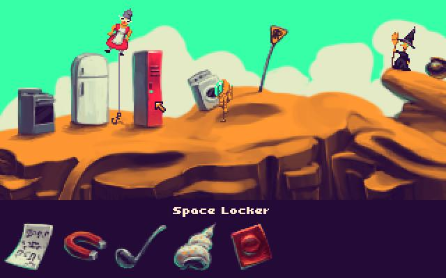Screenshot of Spaceman in Space