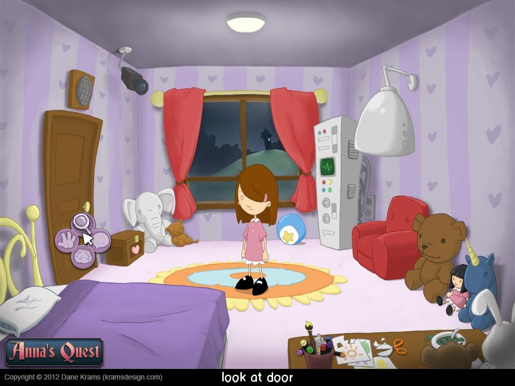 Screenshot of Anna's Quest Vol. 1: Winfriede's Tower