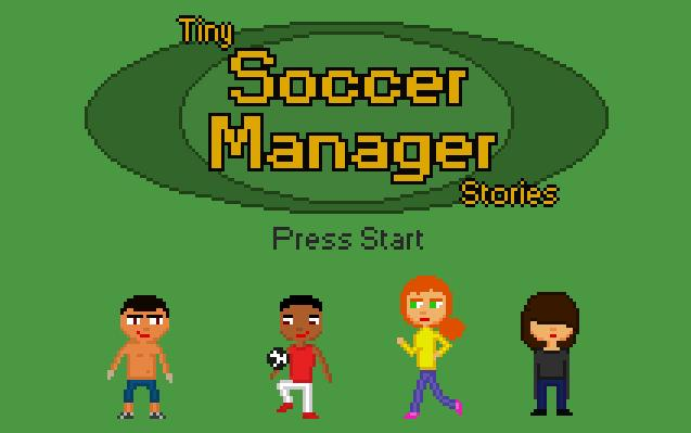 Zoomed screenshot of Tiny Soccer Manager Stories