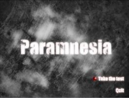 Screenshot 1 of Paramnesia - DEMO