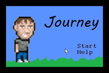 Zoomed screenshot of Journey