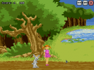 Screenshot 1 of Educating Adventures of Girl and Rabbit