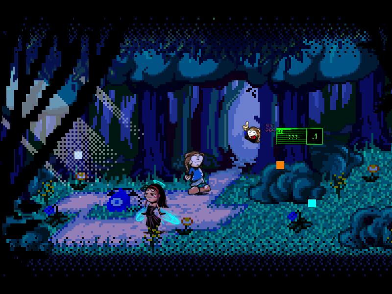 Screenshot of Nefasto's Misadventure - Meeting Noeroze - Part 1 - DEMO