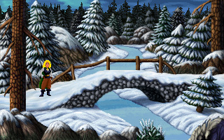Screenshot of Heroine's Quest: The Herald of Ragnarok