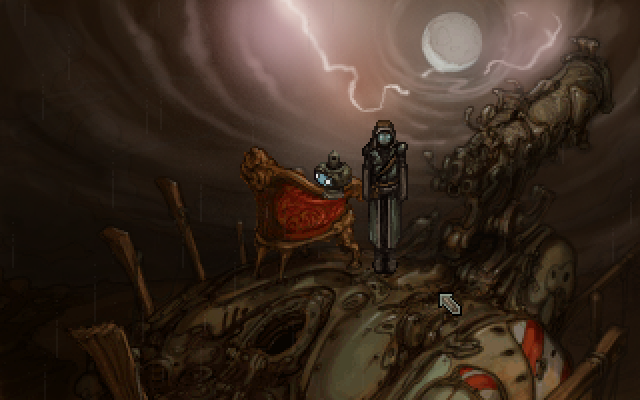Zoomed screenshot of Primordia