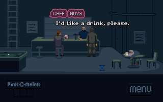 Screenshot of Don't Drink the Pink