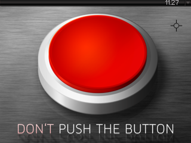 Zoomed screenshot of Don't Push The Button
