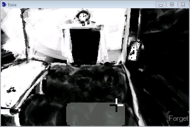 Zoomed screenshot of Essia