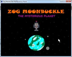 Screenshot 1 of Zog Moonbuckle: The Mysterious Planet.