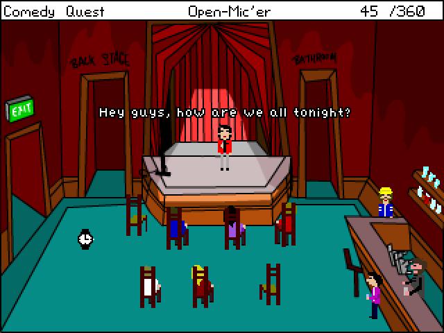 Screenshot of Comedy Quest
