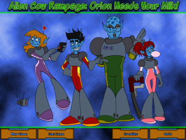 Screenshot 1 of Alien Cow Rampage: Orion Needs Your Milk!