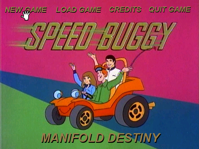 Zoomed screenshot of Speed Buggy: Manifold Destiny