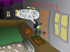 Screenshot 1 of T.O.T.S: Trick-Or-Treat Simulator
