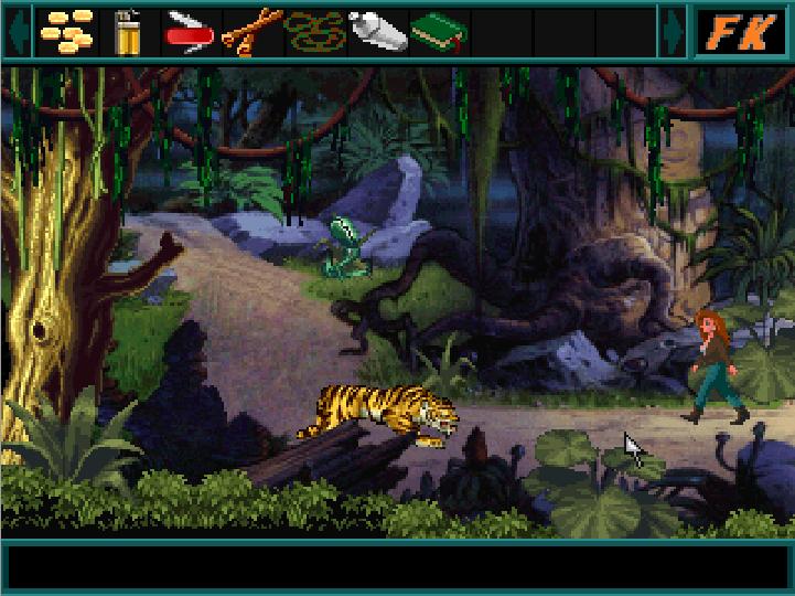 Screenshot 2 of Faye King: Jungle Jeopardy width=