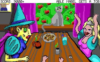 Screenshot 3 of Able Mabel gets a Job width=