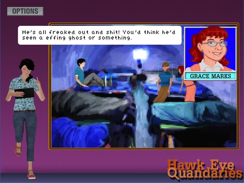 Screenshot 3 of Hawk Eye Quandaries