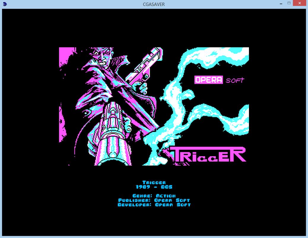 Screenshot 3 of CGA games screensaver width=