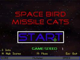 Screenshot 1 of Space Bird Missile Cats