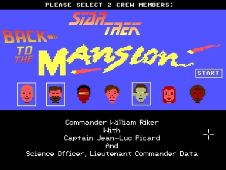 Screenshot of Star Trek: Back to the Mansion