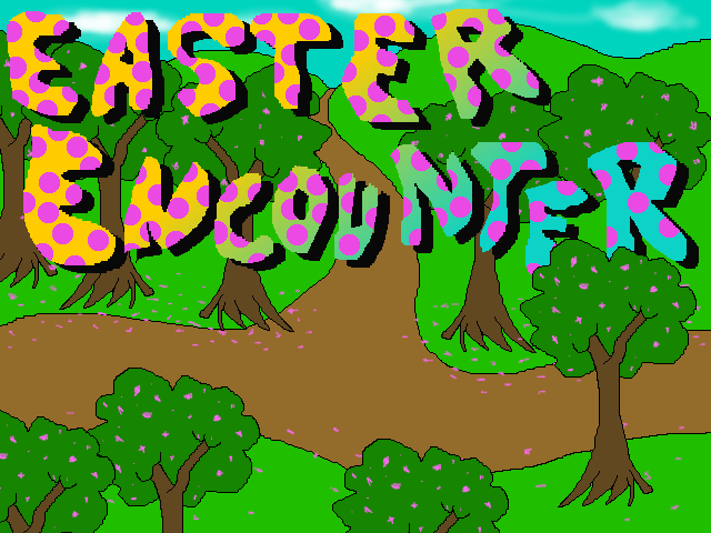 Zoomed screenshot of Easter Encounter