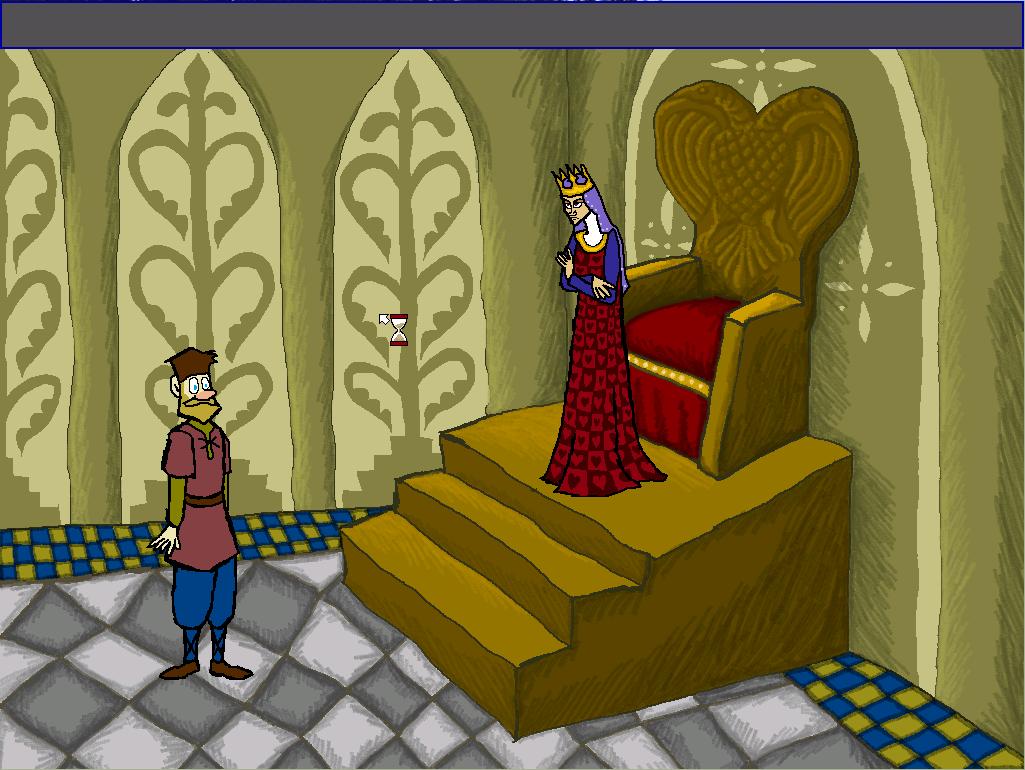 Zoomed screenshot of The viking guardsman