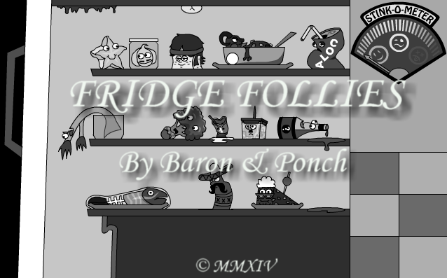 Zoomed screenshot of Fridge Follies