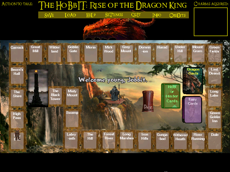 Screenshot of The Hobbit: Rise of the Dragon King