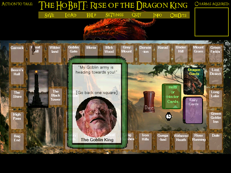 Screenshot 2 of The Hobbit: Rise of the Dragon King width=