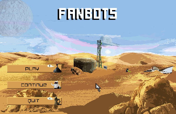 Zoomed screenshot of Fanbots