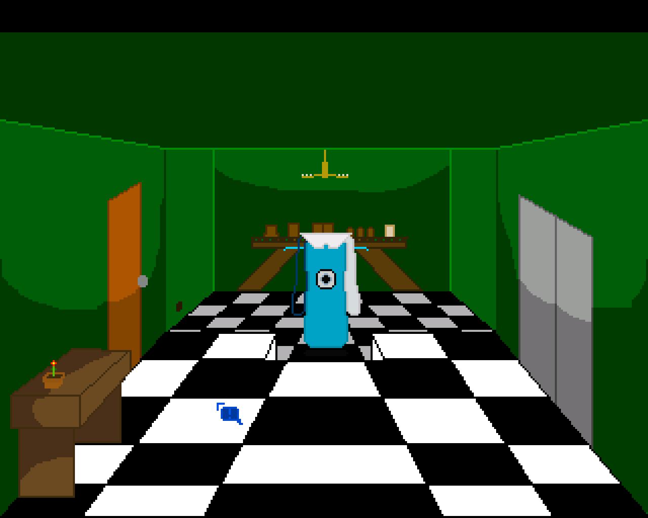 Screenshot of Cauchemarionto
