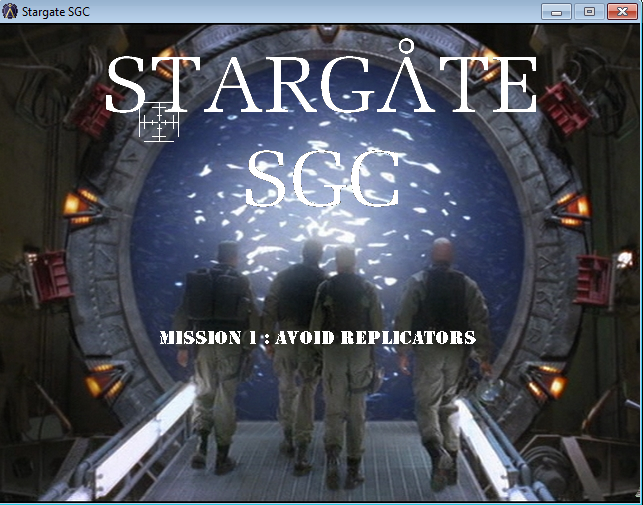 Zoomed screenshot of Stargate SGC