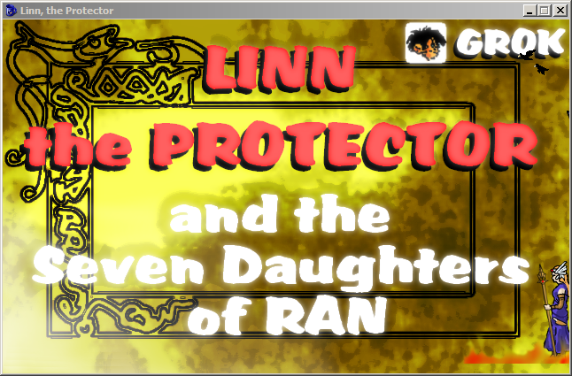 Zoomed screenshot of Linn the Protector and the Seven Daughters of Ran