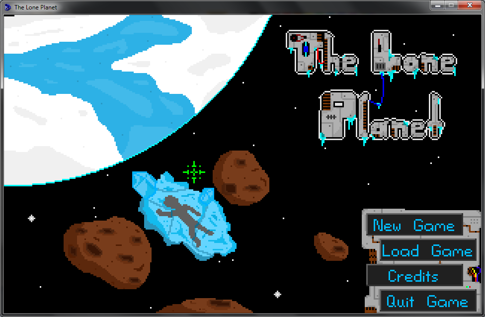 Screenshot of The Lone Planet