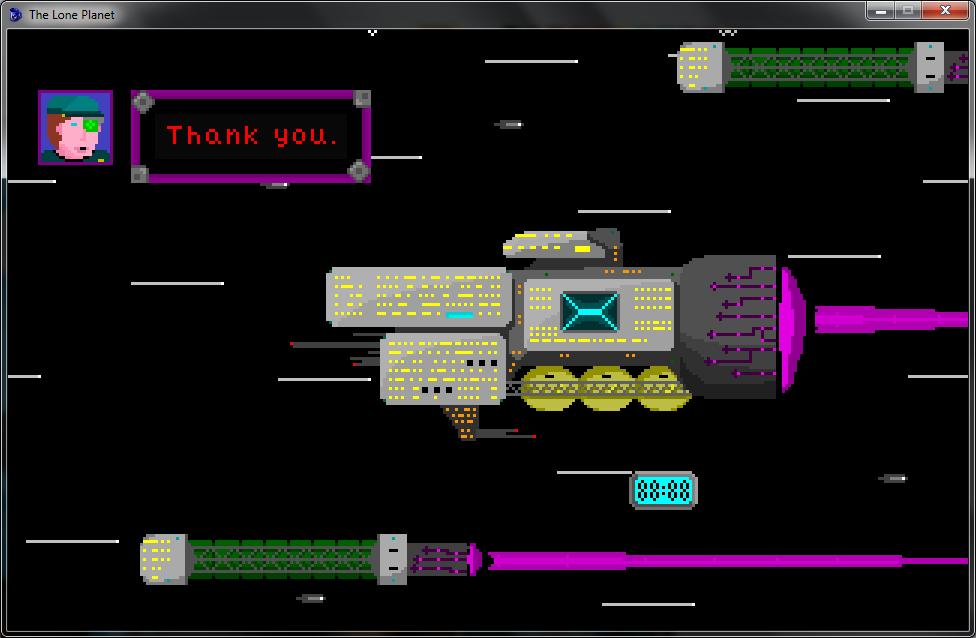 Screenshot 2 of The Lone Planet width=